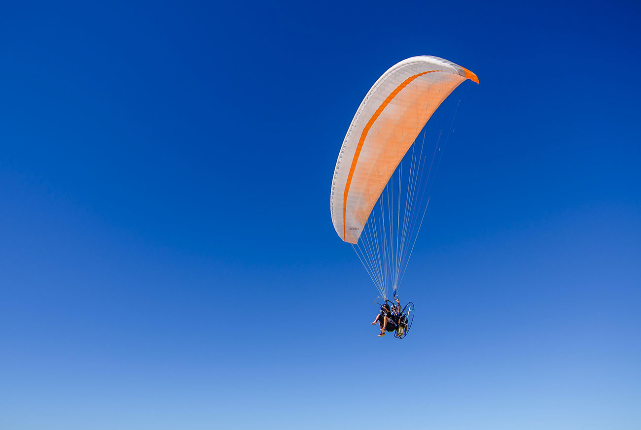 Paragliding in Cabo