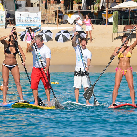 Stand-Up Paddle Boarding in Cabo