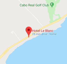 SJD Cabo Airport to Le Blanc